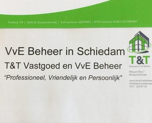 VvE Beheer Schiedam - T&T Vastgoed en VvE Beheer