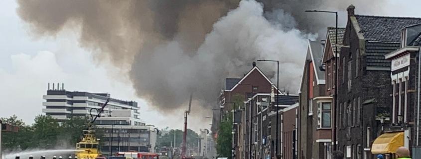 Brand Vlaardingen VvE Koningin Wilhelminahaven - Doggersbank
