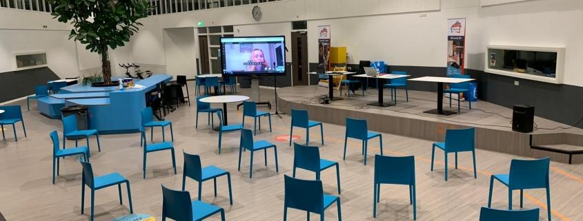 Online vergadering VvE Olympus